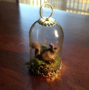 squirrel-in-glass